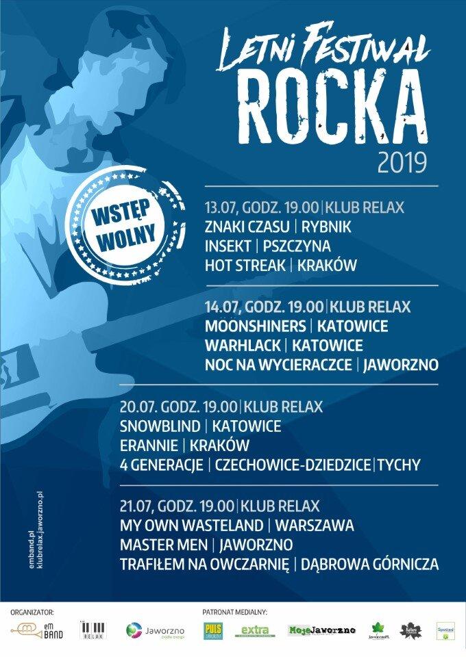Letni Festiwal Rocka w Klubie Relax a