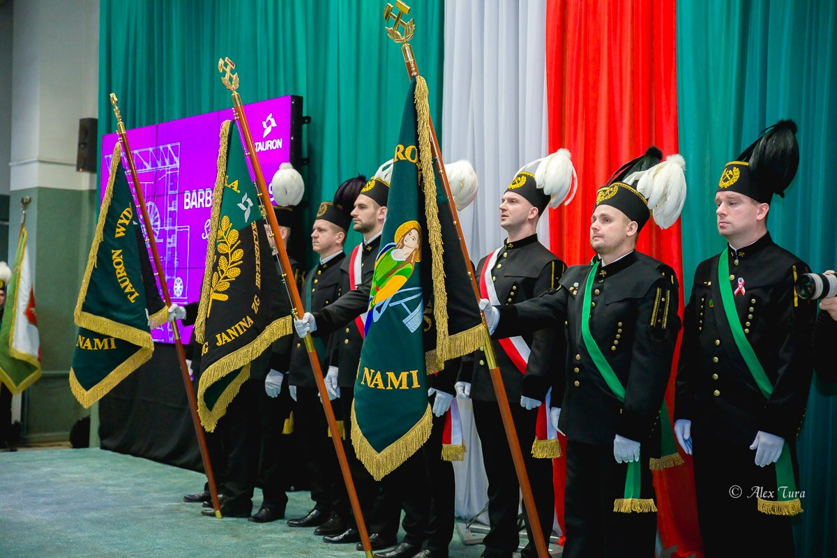 Barbórka w Jaworznie - Górnicy obchodzili swoje święto.