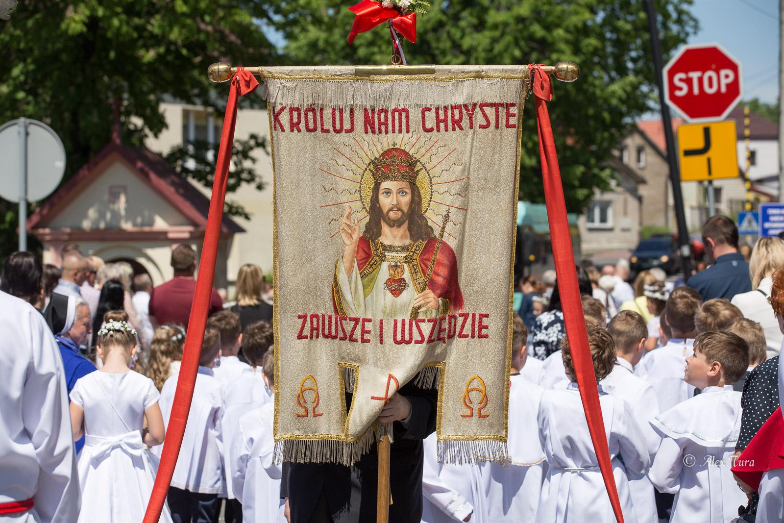 Uroczystość Najświętszego Ciała i Krwi Chrystusa - Boże Ciało w Jaworznie