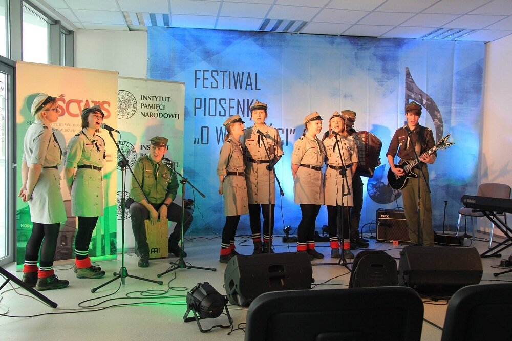 "V Festiwal Piosenki ""O wolności"""