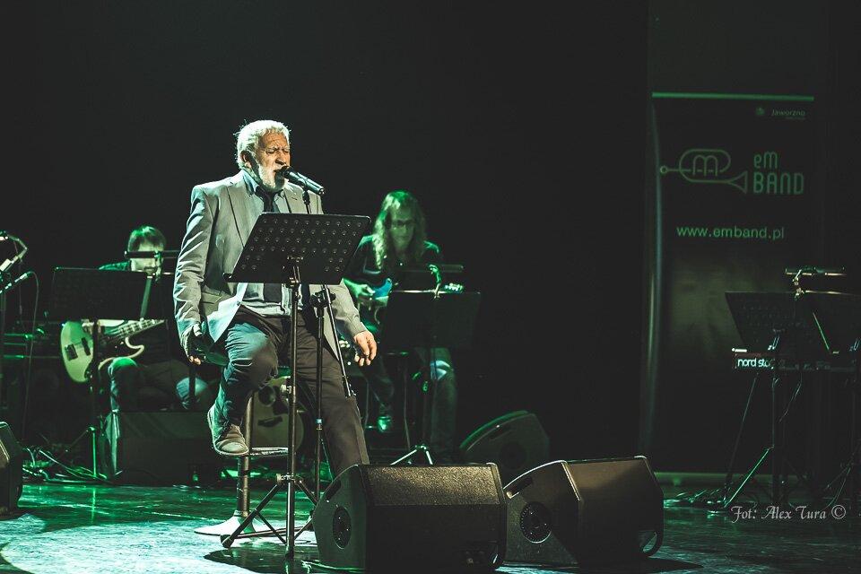 eM Band z Gordonem Haskellem w Teatrze Rozrywki - po koncercie
