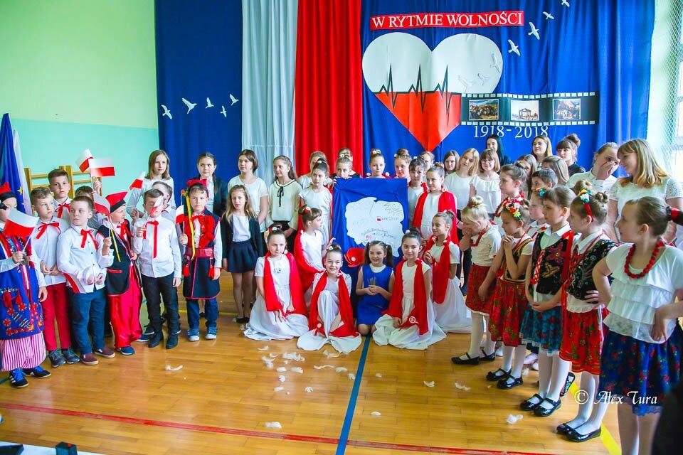 Akademia w Rocznicę Niepodległości w Szkole nr 22
