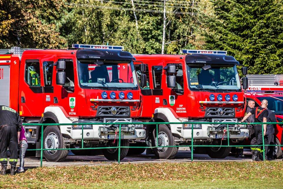 Nowe wozy dla Ochotniczych Straży Pożarnych