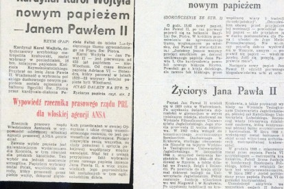 Papież Polak Jak To Było W 1978 Wspomnienia Wycinki Fakty